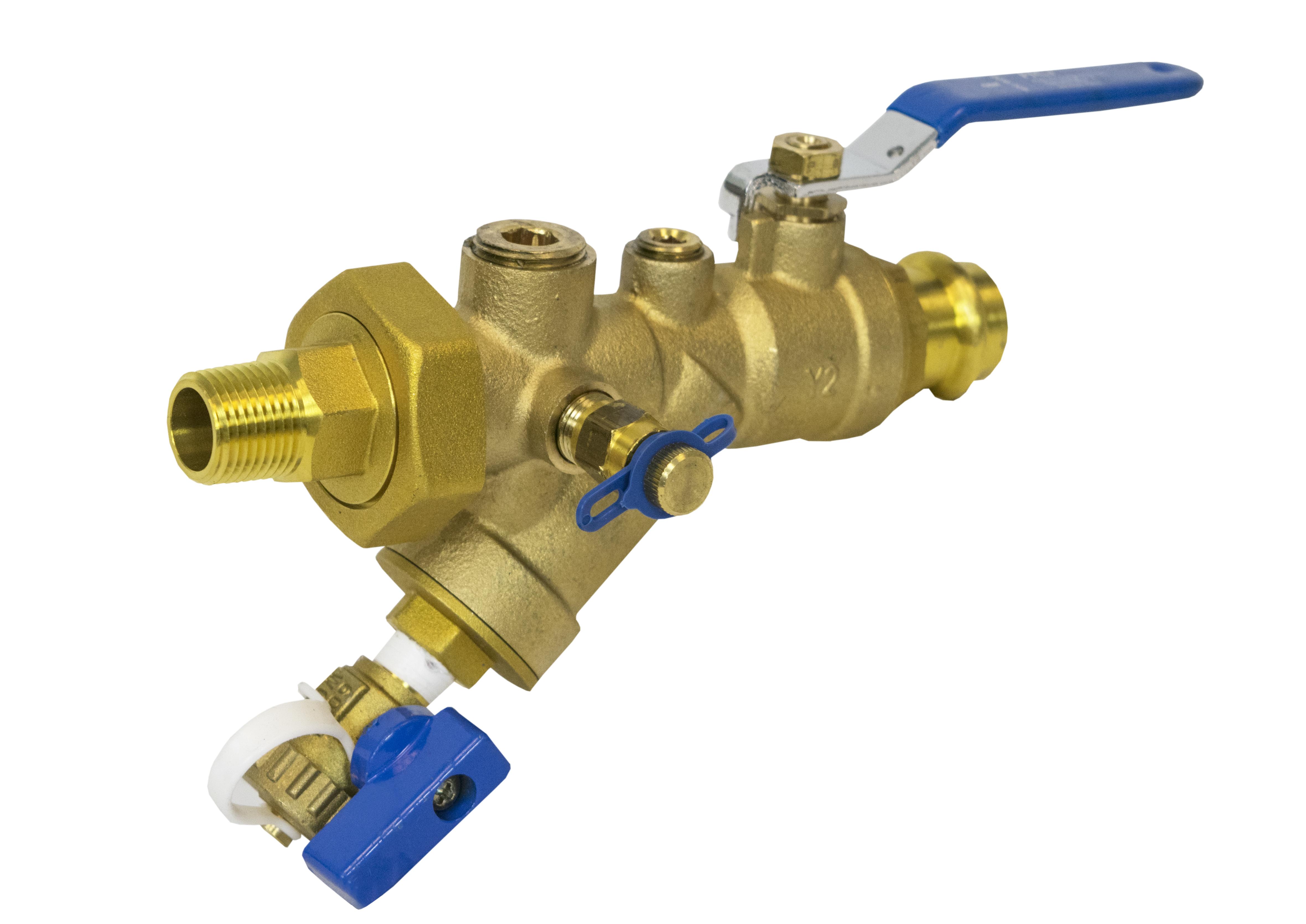 Hci combination strainer valves